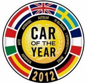 Election de la voiture de l'année 2012 : les candidates