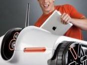 Insolite tank espion pour iPad