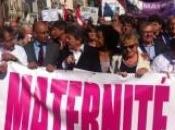 Mobilisation pour maternité Lilas, l'unité gauche syndicale, associative, politique.