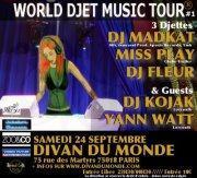 World djet Music tour