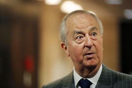 Edouard Balladur à l'Assemblée nationale pour une audition, le 5 mai 2010 (Jacky Naegelen/Reuters).