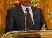 Paul Biya dévoile programme