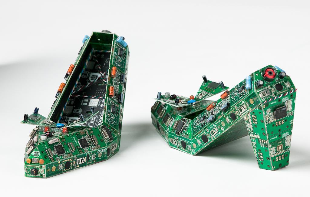 De La Sculpture En Circuits Imprim 233 S Paperblog