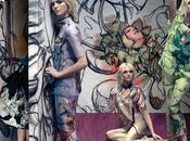 "Mode tendance ""peinture"" 2008 illustrée Prada"
