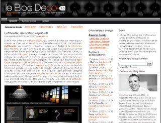 Le beau, le magnifique blogdeco écrit sur loftboutik !!