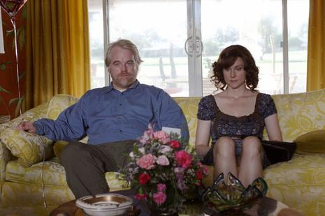 Philip Seymour Hoffman et Laura Linney. Fox Searchlight Pictures
