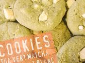 COOKIES MATCHA-CHOCOLAT BLANC
