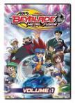 Beyblade Metal Fusion - Gingka, notre héros, et son groupe d'amis fidèles se mesurent à un dangereux groupe appelé la Nébuleuse Noire qui a pour but de conquérir le monde et d'y répandre le mal. Ginka est la seule personne assez forte pour les en empêcher, il lutte alors pour défendre le monde et l'honneur du Beyblade. C'est une série de mangas inventée par Takao Aoki et adaptée en dessin animé. Elle a été créée suite au succès des séries Beyblade V‐Force, Beyblade G‐Révolution.