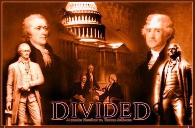 Jefferson vs Hamilton