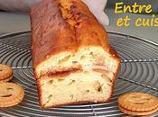 Cake fromage blanc...mais avec mini-BN Fraise