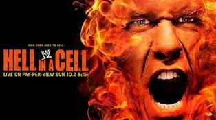 L'affiche du Pay Per View de la WWE du mois d'octobre Hell in a Cell 2011
