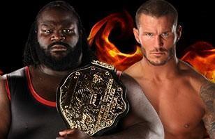 Championnat du Monde Poids Lourds : Randy Orton échoue face à Mark Henry