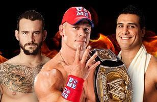 Alberto Del Rio réalise l'exploit à Hell in a Cell 2011