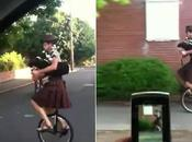 thème Star Wars cornemuse monocycle