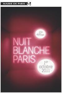 affiche nuit blanche 2011 Nuit blanche 2011 : un record d'affluence !