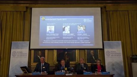 Nobel de physique attribué à Perlmutter, Schmidt & Riess