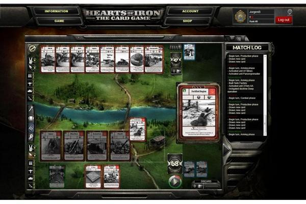 Hearts of Iron Card Game