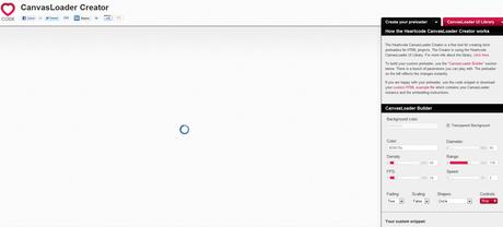 generateur image prechargement html5 gnd Concevez votre propre icône de préchargement