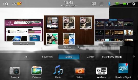 blackberry playbook BlackBerry X, le futur OS de RIM ?
