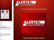 Alerte enlèvement débarque Facebook