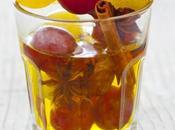 Dans panier ménagère rock raisin épices...