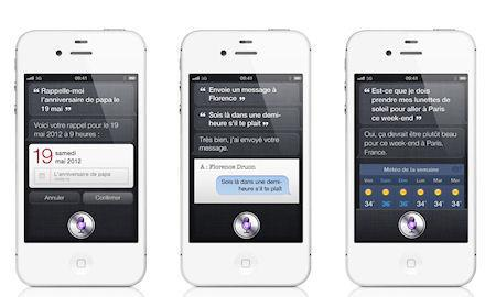 iphone 4gs siri Pas diPhone 5 mais un iPhone 4S disponible le 14 octobre