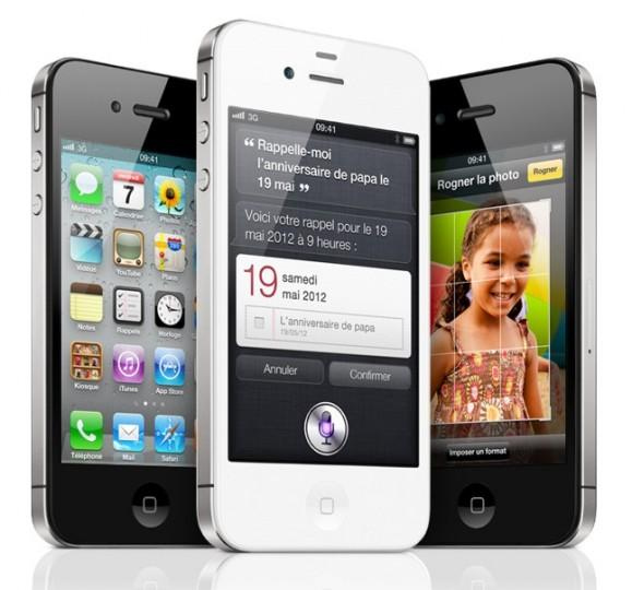 apple iphone 4S 579x540 LiPhone 4S officialisé !