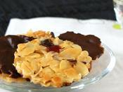 Concours chocolat Recette n°12 Florentins fruits confits, amandes effilées