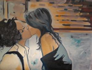 Les scènes intimes de «The L Word» en peinture