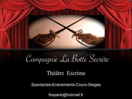 Cours Stages 2011/2012 Escrime artistique