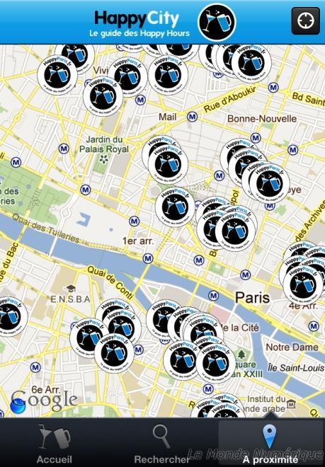 HappyParis.fr, le site des happy hours sur Paris