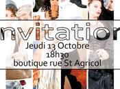 Octobre Jean Rian Avignon vous invite Lancement Shoes Projet Nicolas Dumas