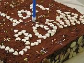 Gâteau d'anniversaire chocolat pour
