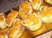 Toasts poire, gorgonzola paprika