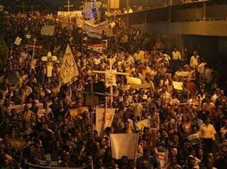 Egypte: 23 morts lors d'une manifestation copte, couvre-feu au Caire