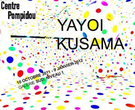 Yayoi Kusama, plasticienne japonnaise, au Centre Pompidou