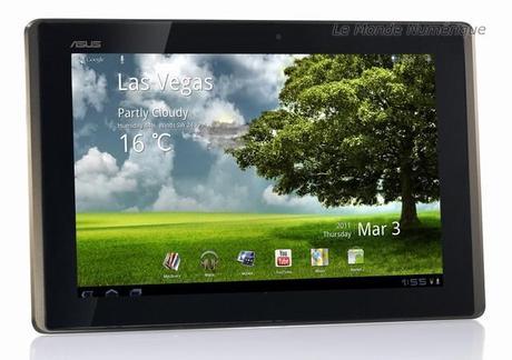 La tablette tactile sous Android Asus Eee Pad Transformer TF-101 testée