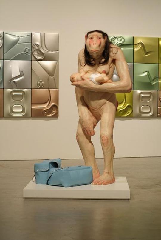 Hypperrealistic sculptures by Patricia Piccinini