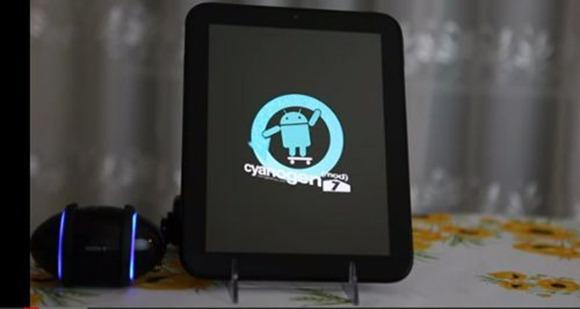 cyanogen android touchpad