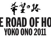 Yoko road hope exhibition 2011