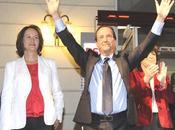 François Hollande vainqueur Martine Aubry candidat