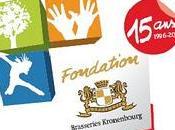 votre agenda cérémonie remise Prix Fondation Kronenbourg célébration 15ans d'engagement