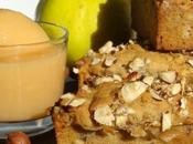 Compote coings miel cake châtaigne-noisette