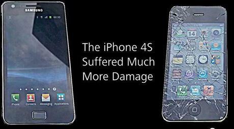Iphone vs Samsung LIphone 4S cest de la merde. La preuve.