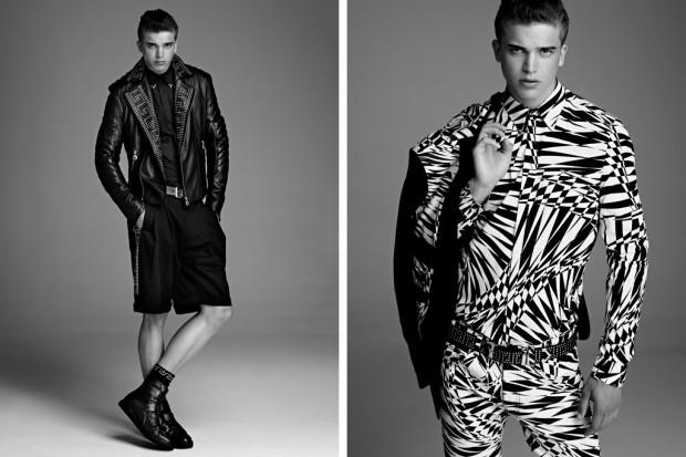 versace for hm mens 2011 fallwinter collection lookbook 1 620x413 Versace x H&M   Lookbook homme