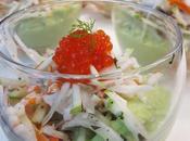 Atelier cuisine surimi recette verrine l'avocat