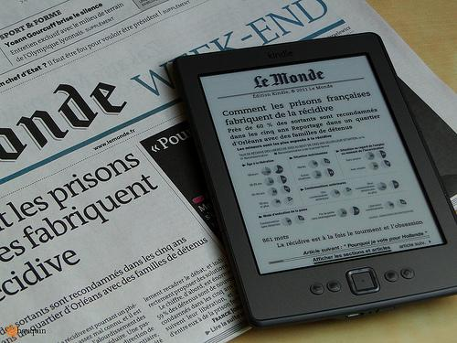 Le Monde en édition Kindle