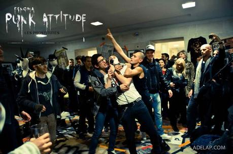 Vernissage :: Punk Attitude chez Renoma