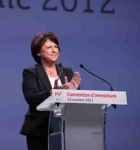 convention-investiture-martine-aubry-ps