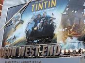 Aventures Tintin: l'avant-première Londres